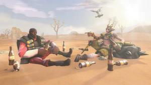 [SFM] Idiots in-Desert