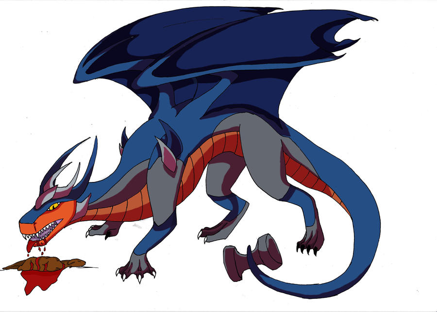Organic Breakdown Dragon by randomcatgirl