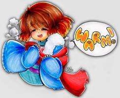 Warm Angel Frisk by kirawong
