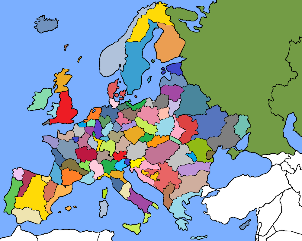 Regionalization and expansion of the E.U. by Uslengh