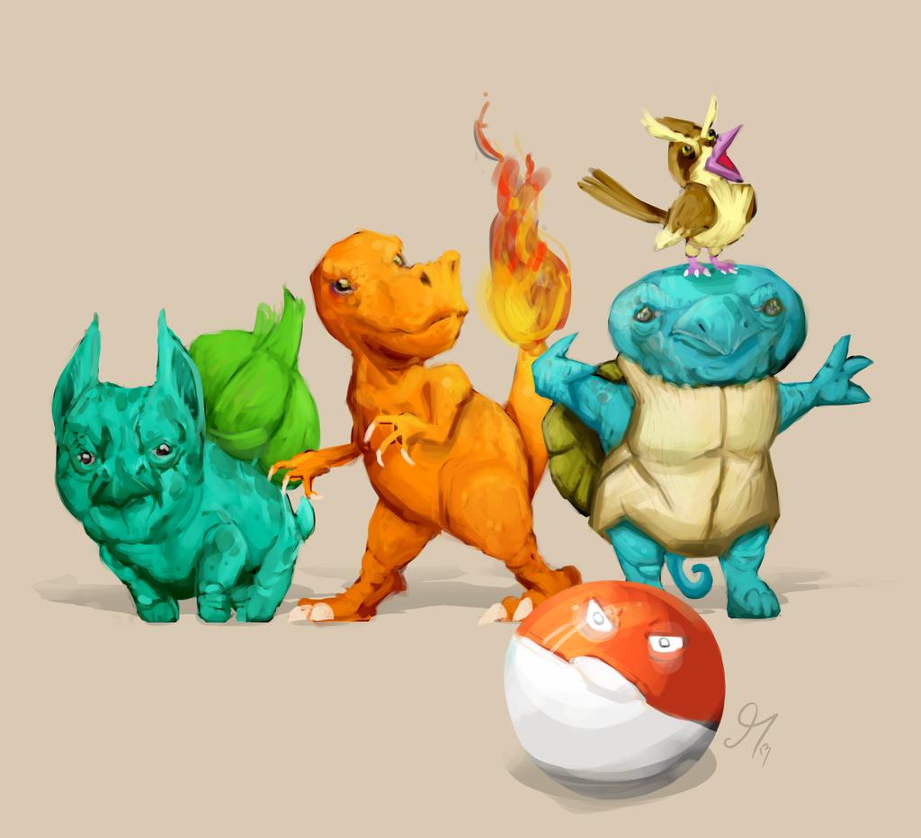 Pocket Monster Redux by HotCyder on DeviantArt