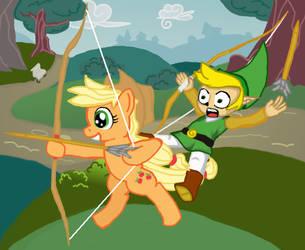 Horseback Archery by ReyJJJ