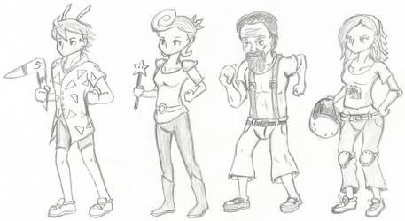 FFV Party in Nicktoon Costume
