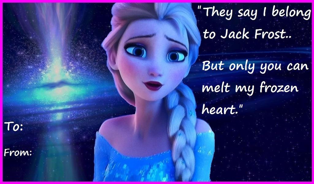 Love Card - Elsa by Trackforce