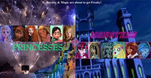 Princesses Vs. Monsters