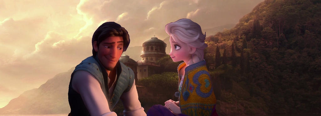 Elsa and Eugene - Naboo Romance by Trackforce