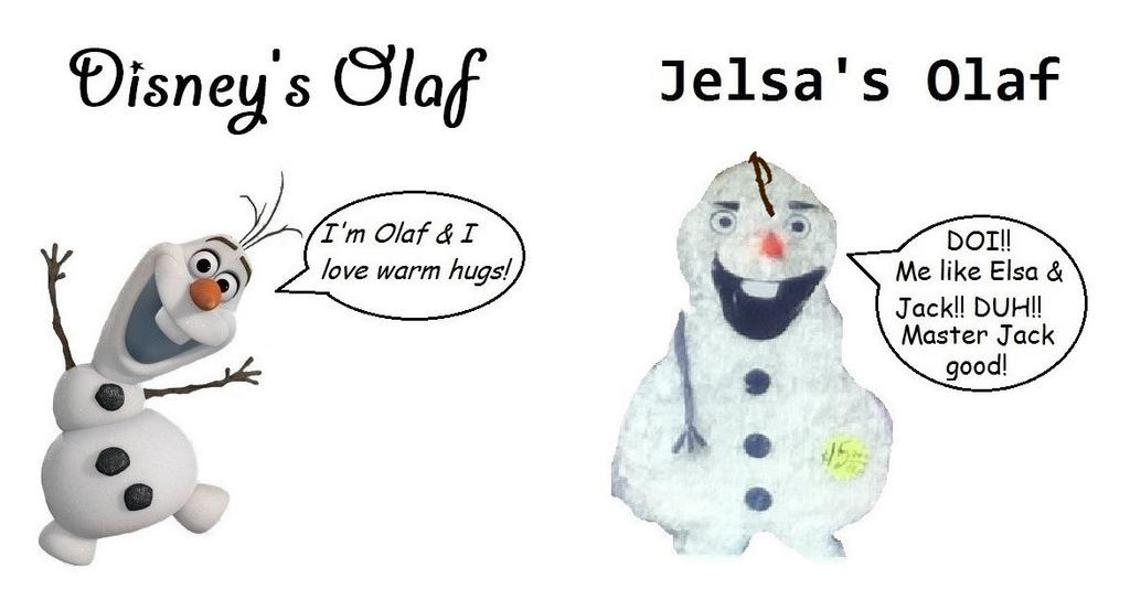 Jelsa's Olaf by Trackforce