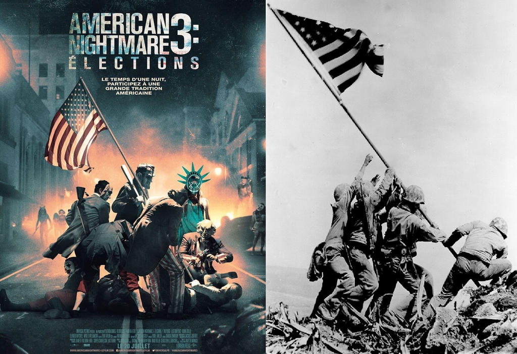 The Purge Election Year Poster Wallpapers: Iwo Jima Comparison By Trackforce On