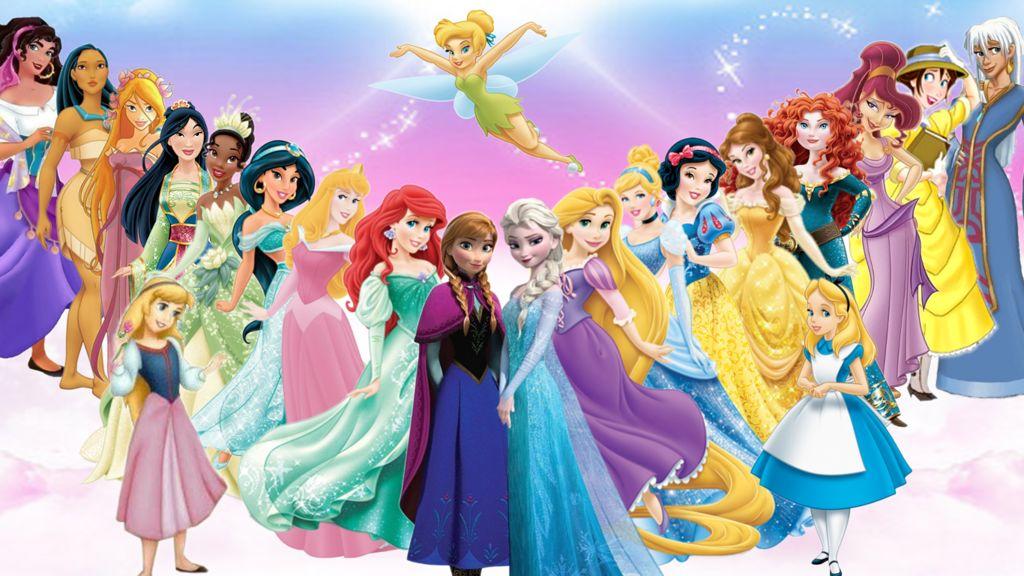 Disney princesses by Trackforce
