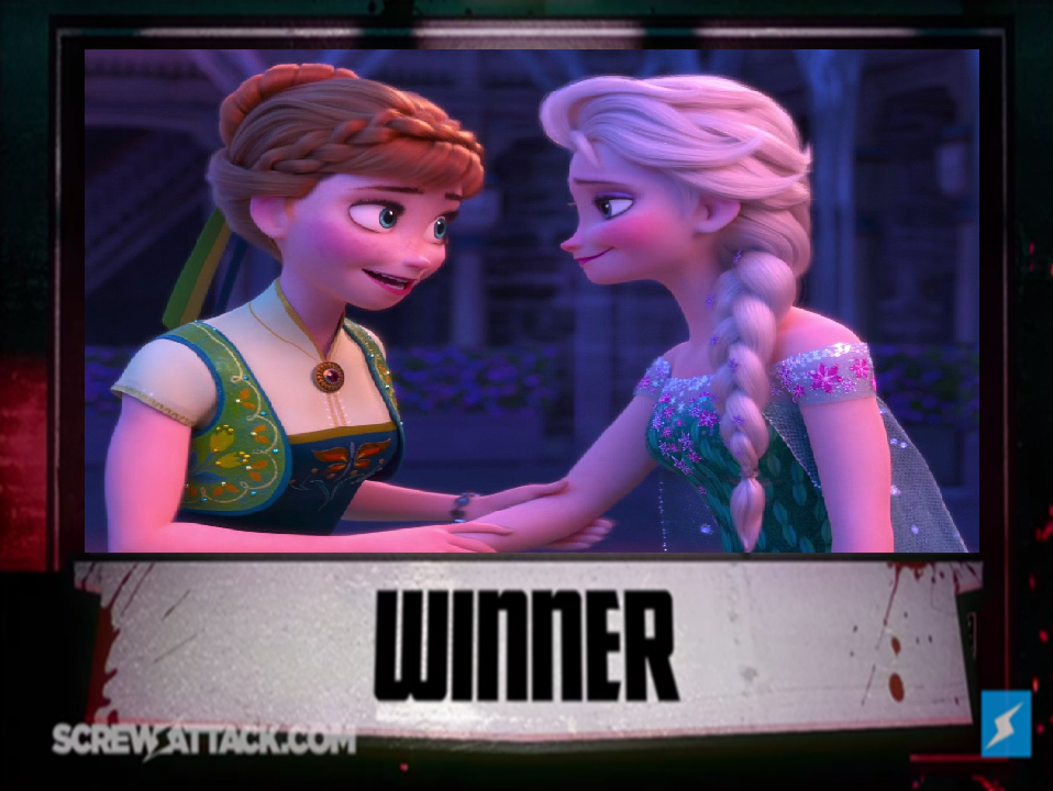 spoiler for Jack Vs.  Elsa Death Battle by Trackforce