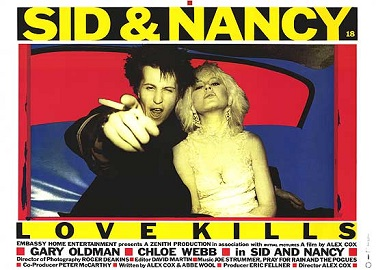 Sid and nancy poster by Trackforce