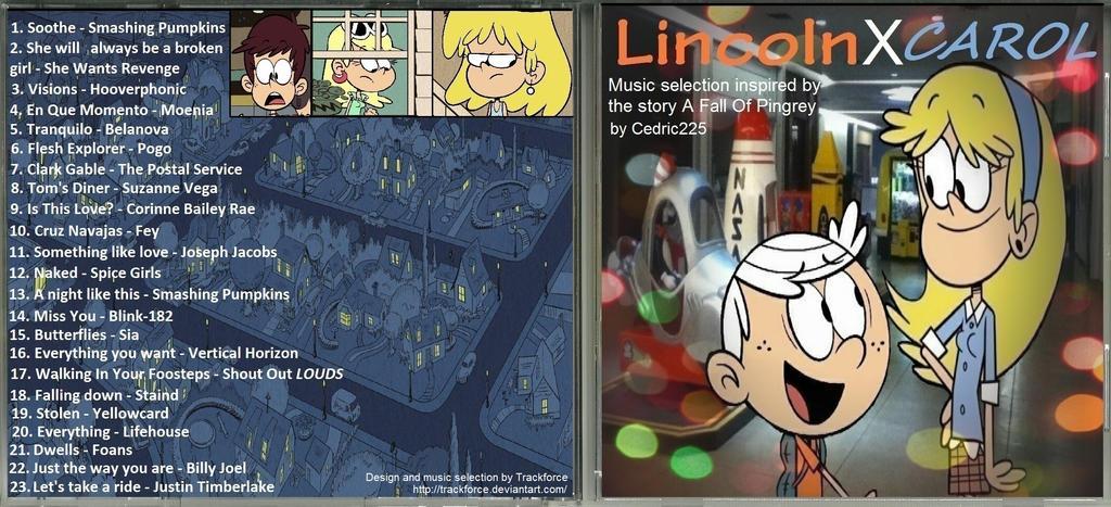 LincolnXCarol Tribute album by Trackforce