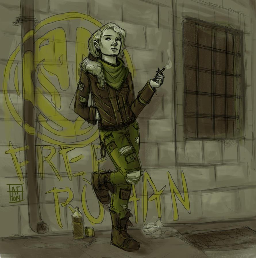 eowyn - anarchy by AlyssaF