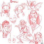 sketches of drac
