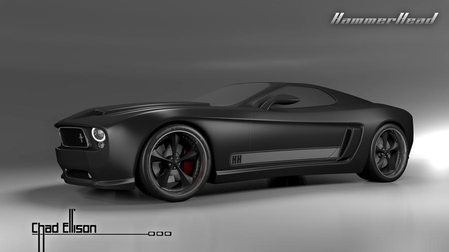 Mustang Mach 1 Hammerhead Concept By Hourglasscreative78