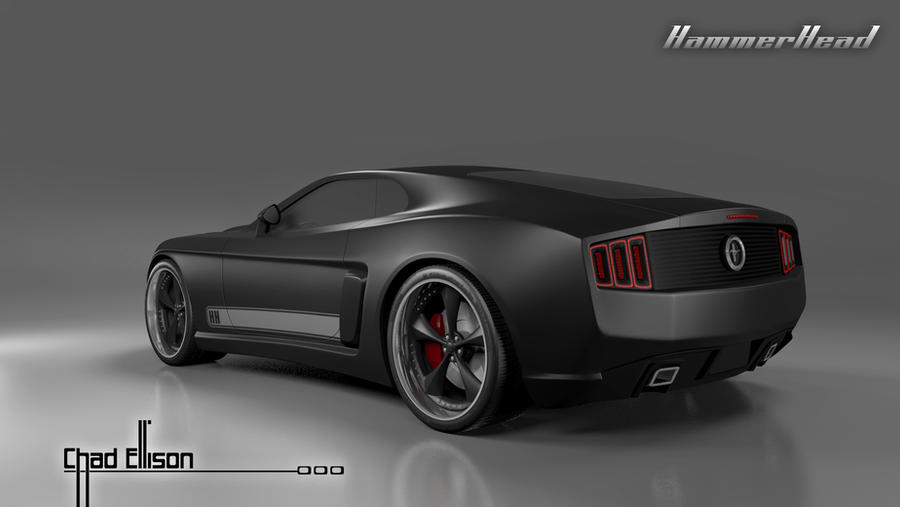 Mustang Mach 1 Hammerhead Concept By Hourglcreative78