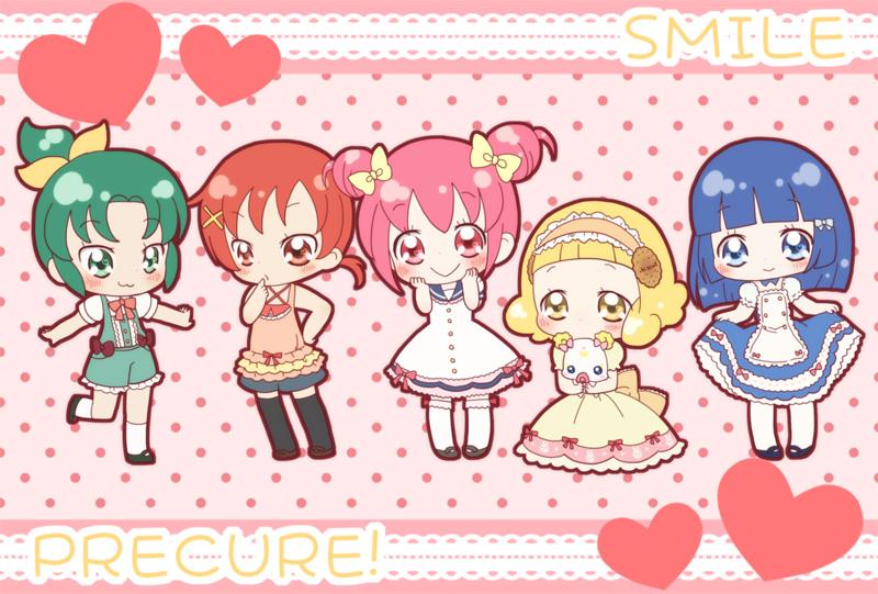 اجمل صور انمي بنات اصدقاء smileprecure_by_sakuramori_sumomo-d5pl02h.jpg