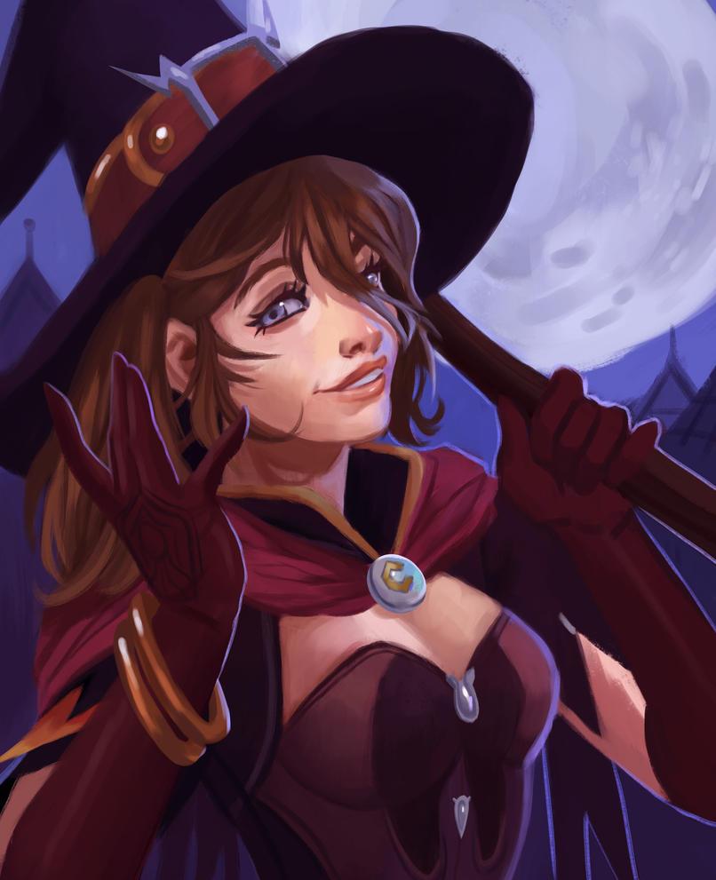 Aesaii Witch Mercy by BugNark on DeviantArt