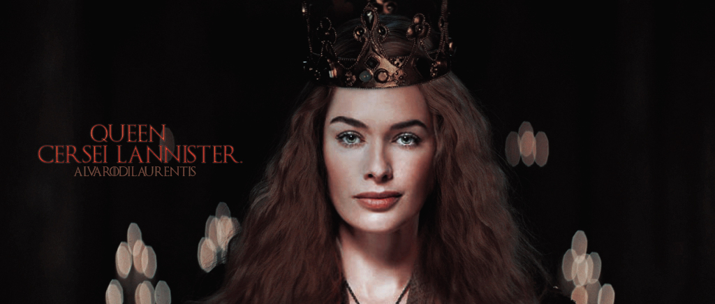 Cersei Lannister Dark Version By Alvarodilaurentis On