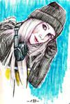 Sketchbook Page 188 // Veronika Mars