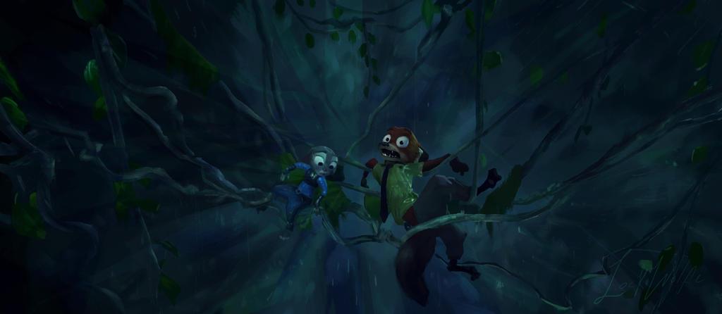 Zootopia Film Study 2 by Lock-wolfe