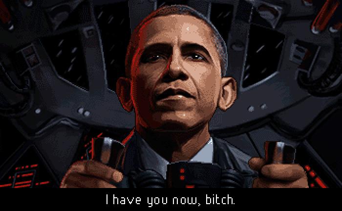 Obama by Moneyhorse