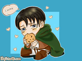 Don't be rude and give Heichou a cookie. by narquelion-lasse