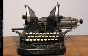 Typewriter Stock by Cassy-Blue