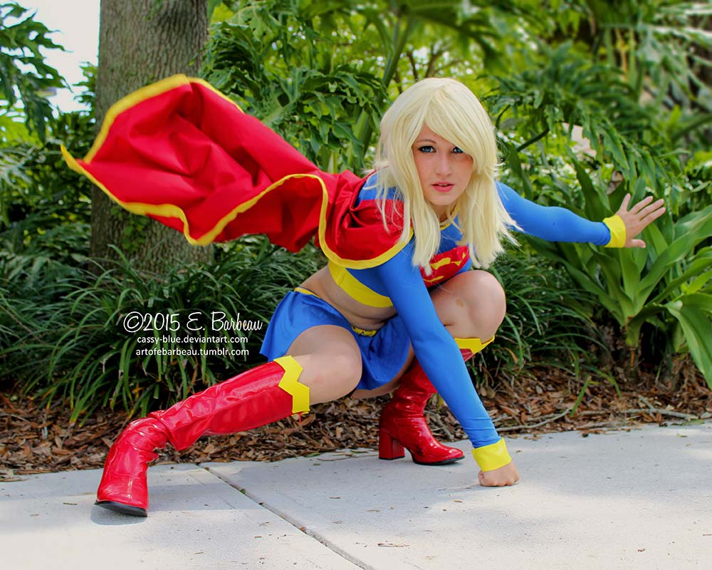 Supergirl Cosplayer by Cassy-Blue