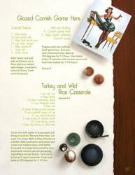 Cookbook layout by MissKittyCatone