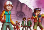 Screencap Redraw - Digimon ZT#1