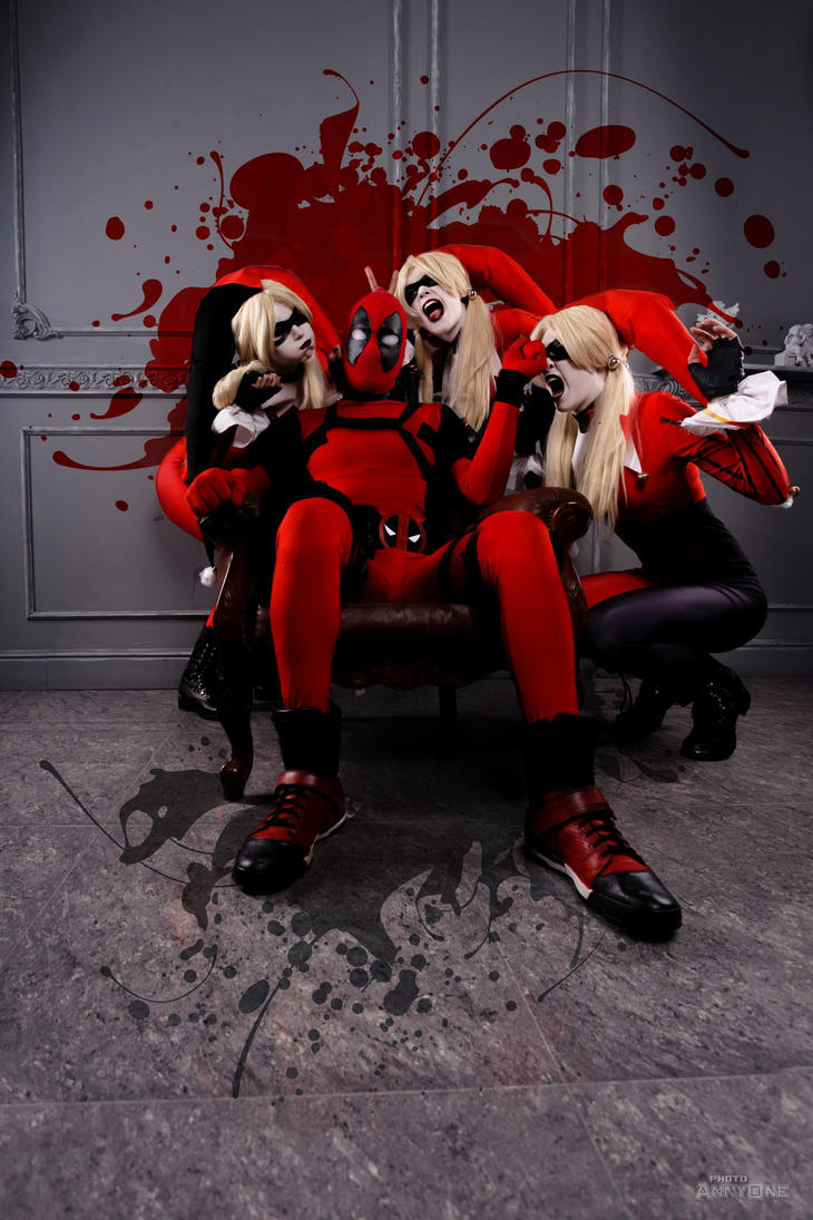 Harley quinn deadpool by kiryufox on deviantart - Deadpool harley quinn notebook ...