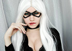 Black Cat (Marvel) by LisyanFox