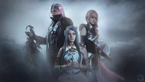 Nsu Yeul, Caius, Lightning ( Final Fantasy XIII)