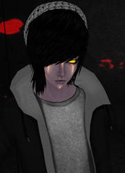my favorite creepypasta puppeteer by NaddRoger