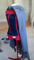 The Sufferer Cosplay top and cloak WIP