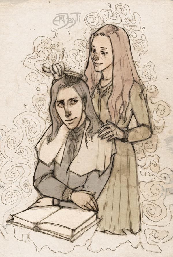 Severus and Lily. Read aloud by ArtJayTi