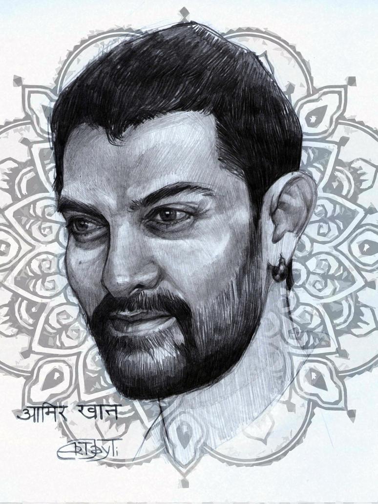 Aamir Khan by ArtJayTi