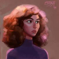 Hermione by ArtJayTi