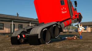 Powergirl lifts truck 6