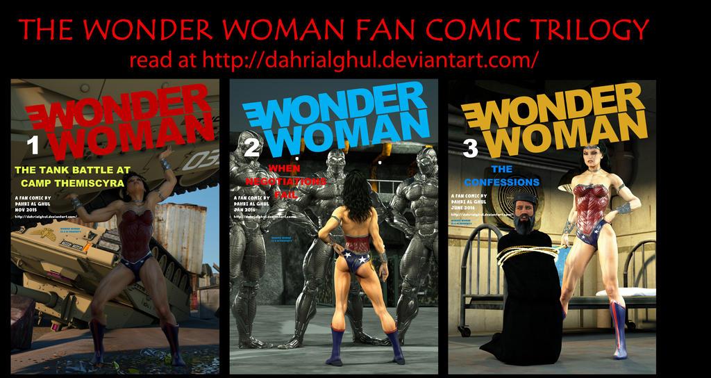 Wonder Woman Fan Comic Trilogy: A Guide