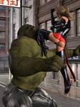 Ms Marvel vs Skrull Champ 16