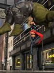 Ms Marvel vs Skrull Champ 31