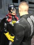 Batgirl vs Bad Biker Boy 01