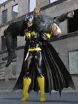 Batgirl vs Bad Biker Boy 09