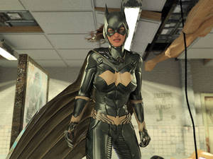 Batgirl vs Three Thugs 24