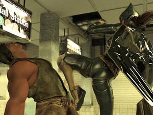 Batgirl vs Three Thugs 21
