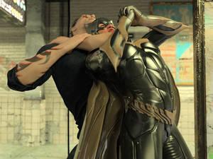 Batgirl vs Three Thugs 16