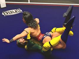 Rogue vs Wonder Woman 3