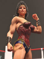 Wonder Woman in the ring 2 by DahriAlGhul